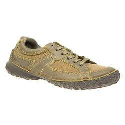 HAN1604 Leather/Other Upper Textile Lining Casual Shoes in Khaki