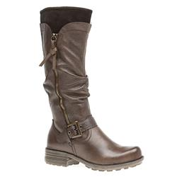 ES1600 Leather Upper Textile Lining Boots in Black, Brown
