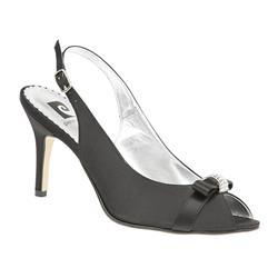 PCSLIP1600 Textile Upper Sandals in Black