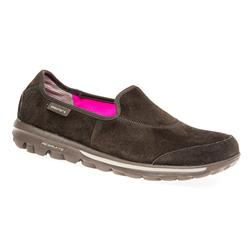 HSSKE1656 Leather Upper Textile Lining Casual Shoes in Brown