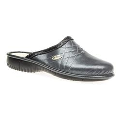 MENE1600 Leather Lining Clogs in Black