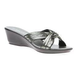 HSNUOV1703 Sandals in Black Shimmer, White Shimmer
