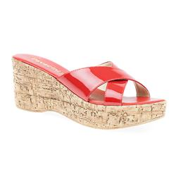 FAD1706 Sandals in Beige Patent, Navy Patent, Red Patent
