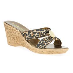 HSNUOV1700 Sandals in Black Leopard, Brown Leopard