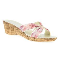 HSNUOV1702 Sandals in Multi Floral, Pink Floral