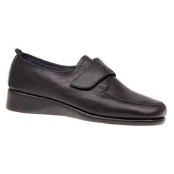 CINFLY1602 Leather Flats in Black