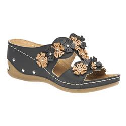 HSSRY1703 Sandals in Black, Tan, White
