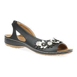 HSSRY1704 Sandals in Black-White, Tan-Off White, White-Black