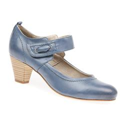 JANA1702 High Heels in Blue, Tan