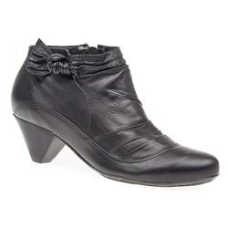 HSBOT1602 Leather Boots in Black