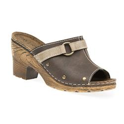 HSIN1502 Leather Lining Sandals in Brown, Jeans