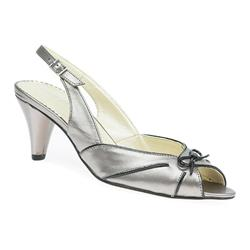 VD1708 Leather Upper Sandals in Metal-Black, Navy-White