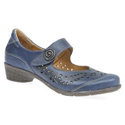 ACOFLY1700 Leather Comfort Small Sizes in Blue, Tan, White