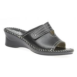 ITA1701HS Leather Sandals in Black, Navy, Platinum