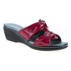 JES1704 Leather Sandals in Black, Red, White