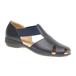 CINFLY1708 Leather Sandals in Navy