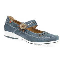 HSCP1706 Leather Lining Casual Shoes in Brown, Denim-Blue