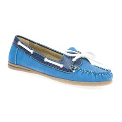 GD1700 Flats in Blue, Red, Tan
