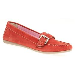 DZ1703 Suede Upper Leather Lining in Black, Red