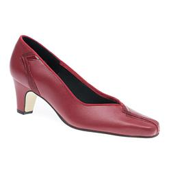 Vanessa Leather Upper Textile/Other Lining Comfort Small Sizes in Black, Brown, Navy, Pewter, Red