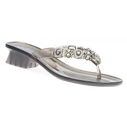 EJ1700 Sandals in Black, Silver