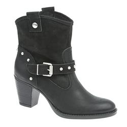 STREN1700 Leather Upper Leather/Textile Lining ??40 plus in Black
