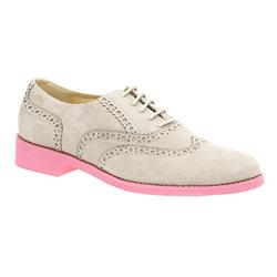 STET1705 Leather in Beige With Pink Sole