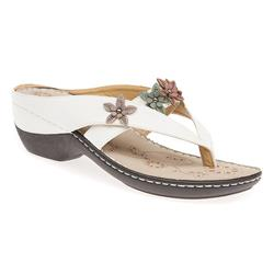 GD1301 Sandals in Denim, White