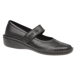 HAK1600 Leather Casual Shoes in Black