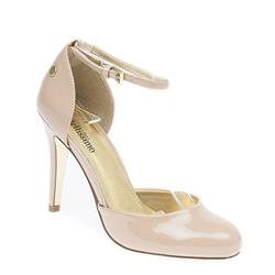 STBR1707 Leather Lining in Cream Patent