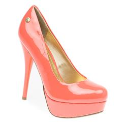 STBR1703 Leather Lining in Coral, Nude