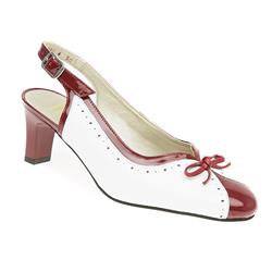 GOOD1701 Leather Upper Leather/Textile Lining Comfort Small Sizes in Navy, White, White-Red