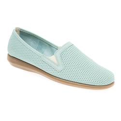 CINFLY1705 Leather Casual Shoes in Light Blue