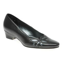 GOODELMTANIA Leather Upper Textile/Other Lining Day Shoes in Black Patent, Navy