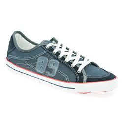 CT1703 Leather/Textile Lace Up in Navy