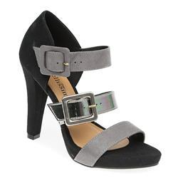 STBRIO1704 Textile Upper Sandals in Black-Pewter