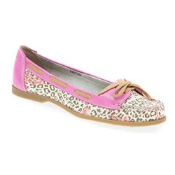 STBOT1704 Leather Upper in Leopard-Flower