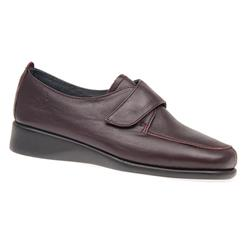 CINFLY1602 Leather Casual Shoes in Burgundy