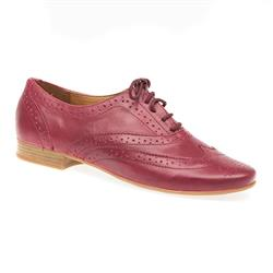 STBOT1605 Leather Upper in Burgundy