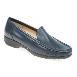 A16-40101 Leather in Blue, Neutral