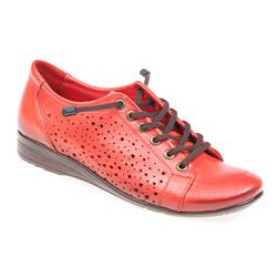 soy1703 Leather Casual Shoes in Red