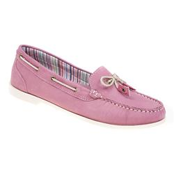 AUTO1700 Leather Flats in Beige, Blue, Pink