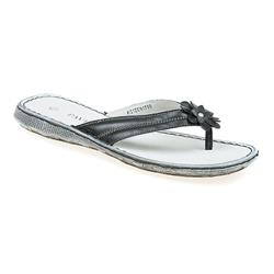 ZEN1706 Leather Sandals in Black, White