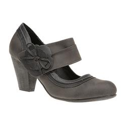 HSCT1610 Leather Lining Day Shoes in Black, Taupe