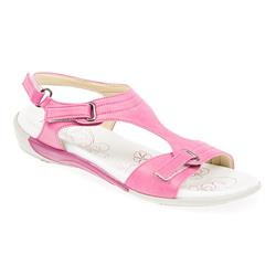 HSTAL1702 Sandals in Beige, Fushcia