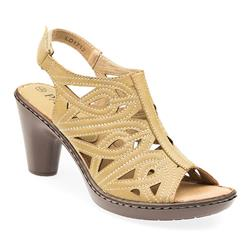 LD1712 Leather Lining Sandals in Beige