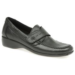 ASIL903 Leather Casual Shoes in Black