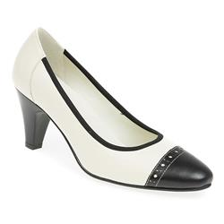ALP1704 Leather Comfort Small Sizes in Cream-Black