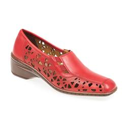 A16-51179 Leather Upper 0 Lining Ara in Red