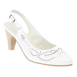 ALP1711 Leather Upper Other/Leather Lining Sandals in White